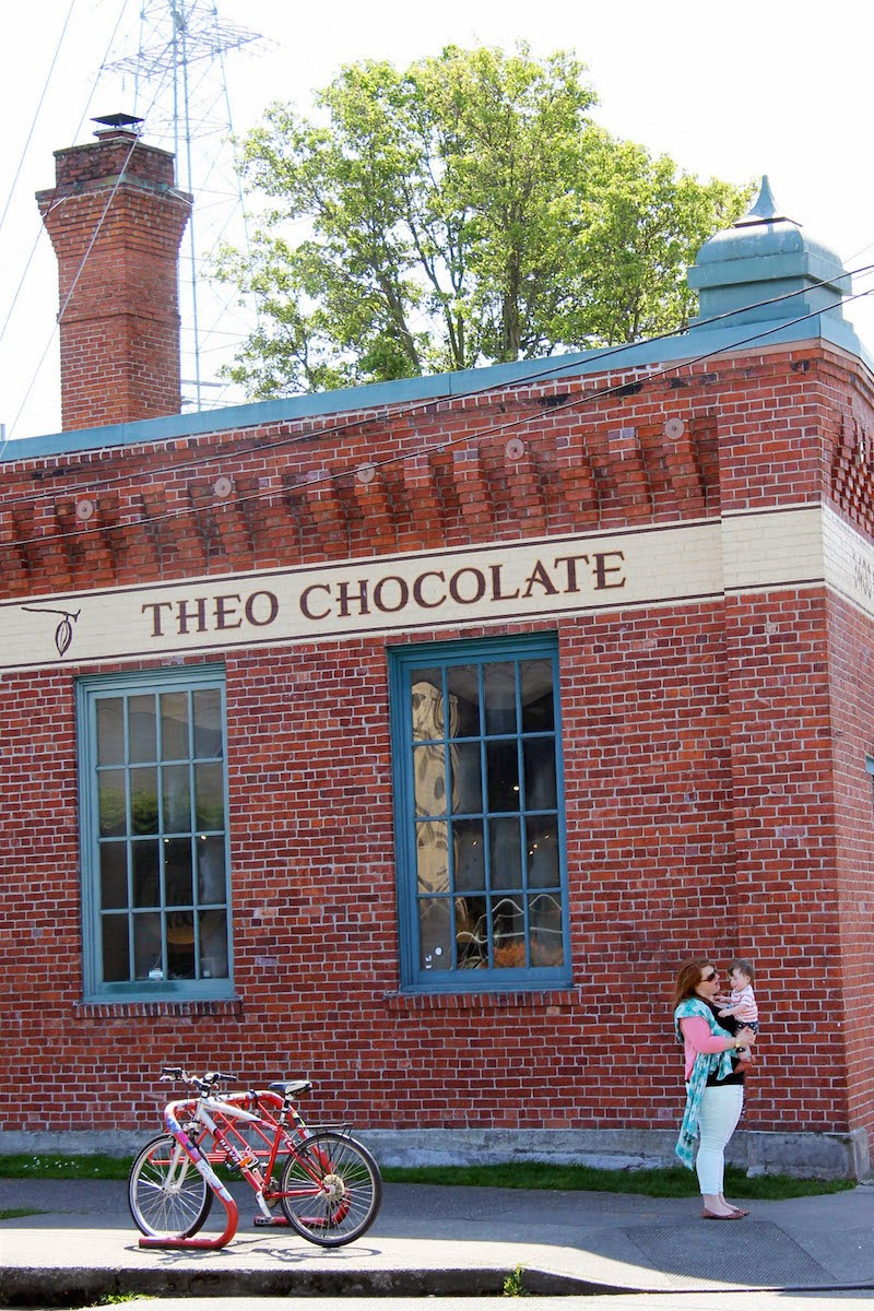 The Ink & Anchor: The Fleshmans Visit the Chocolate Factory.