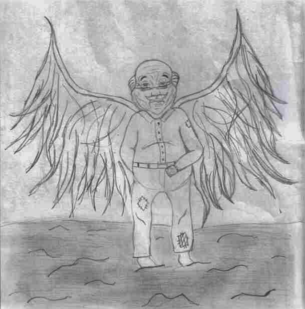 Um senhor muito velho com umas asas enormes - por Gabriel Garcia Márquez