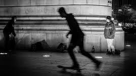 Czarno-biały oddech Lizbony