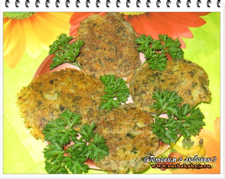 Картофельные лепешки с зеленью