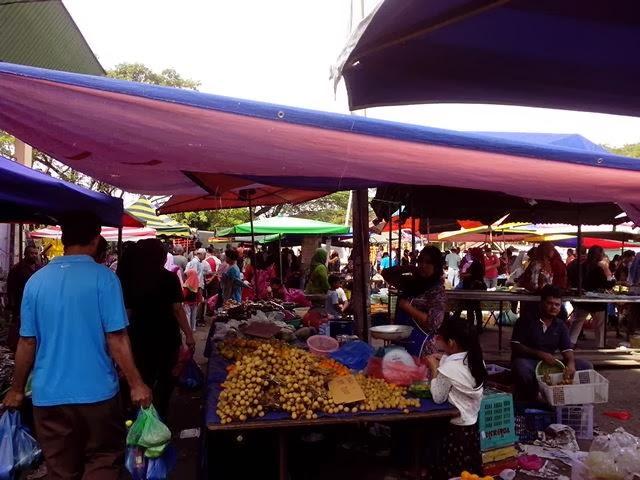pekan arau,pasar pagi pekan arau perlis