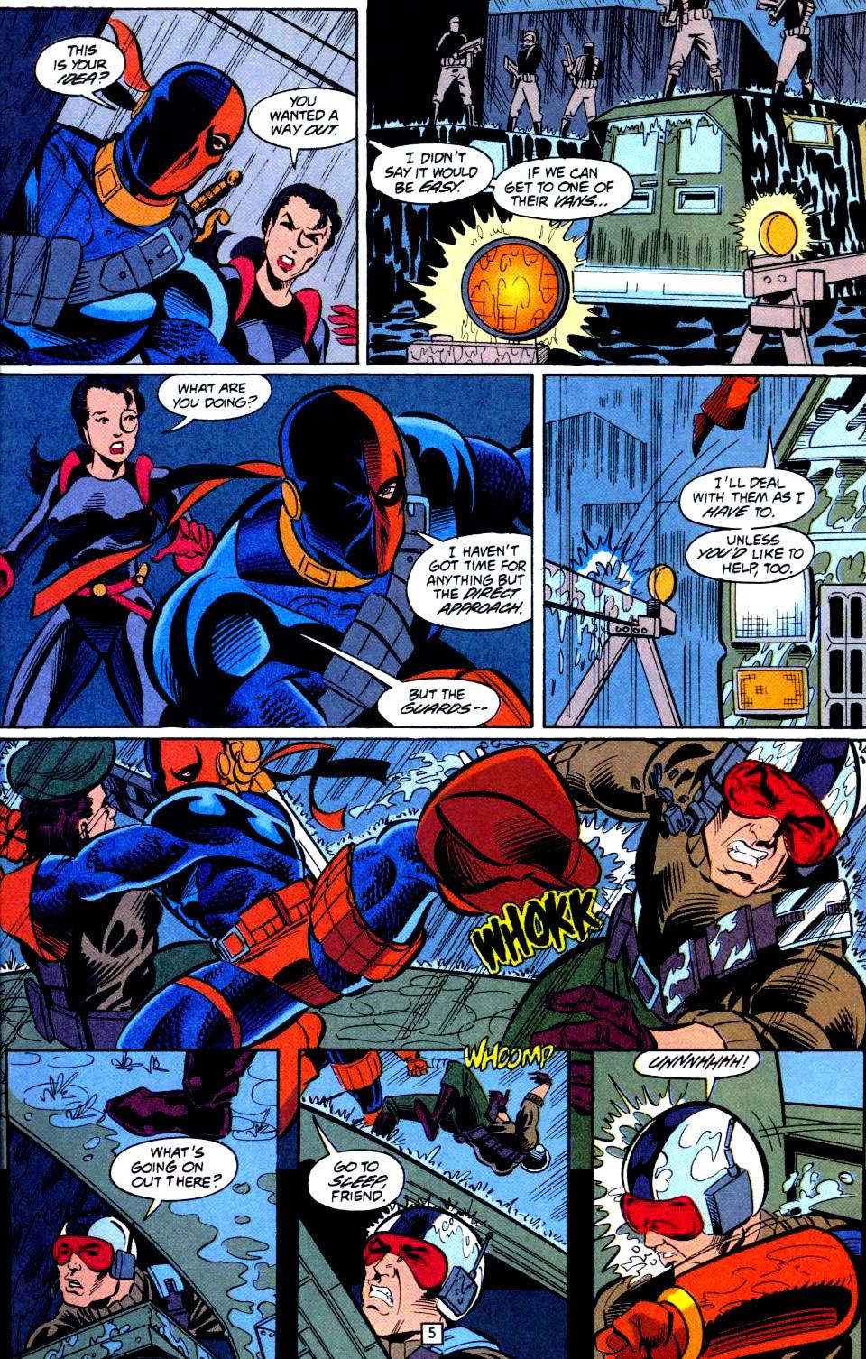 Deathstroke (1991) Issue #38 #43 - English 6