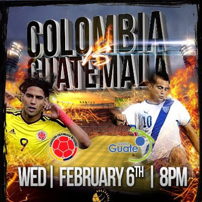 Colombia vs Guatemala vivo