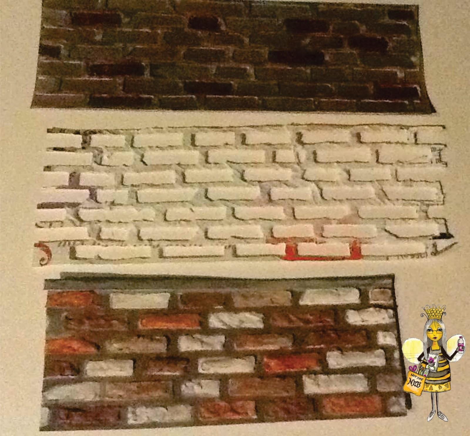 My Legacy: Tim Holtz\'s Brick Wall Die