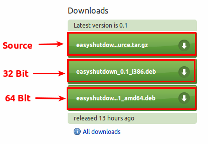 Halaman download EasyShutdown