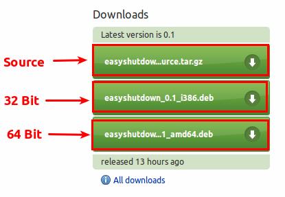 Halaman download EasyShutdown
