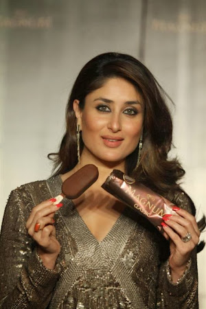 Glorious sparkling Kareena kapoor at magnum ice cream launch