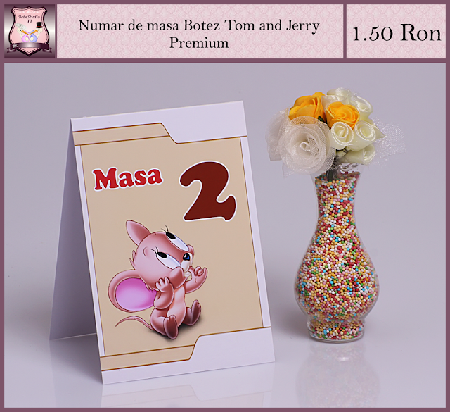 set marturii botez tom si jerry