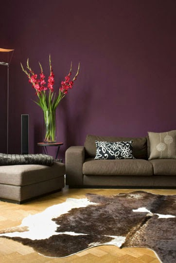 Aubergine/eggplant Loves Cozying Up To Dark Brown And When Used With  Natural Textures Such As Wood And Leather, It Creates A Very Masculine And  ...