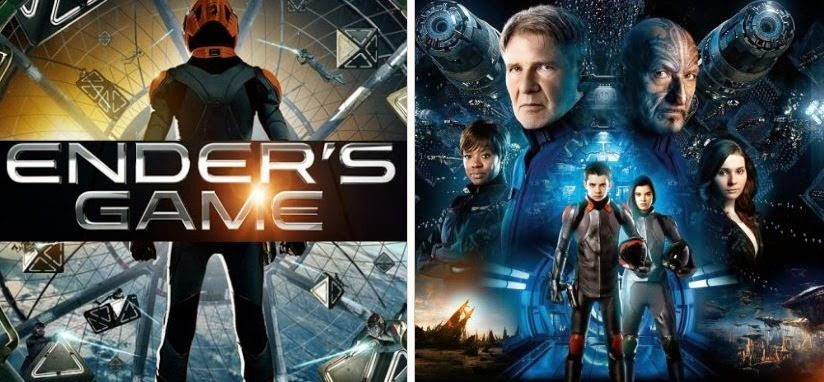 Ender's Game Harrison Ford Ben Kingsley Asa Butterfield Hailee Steinfeld Abigail Breslin