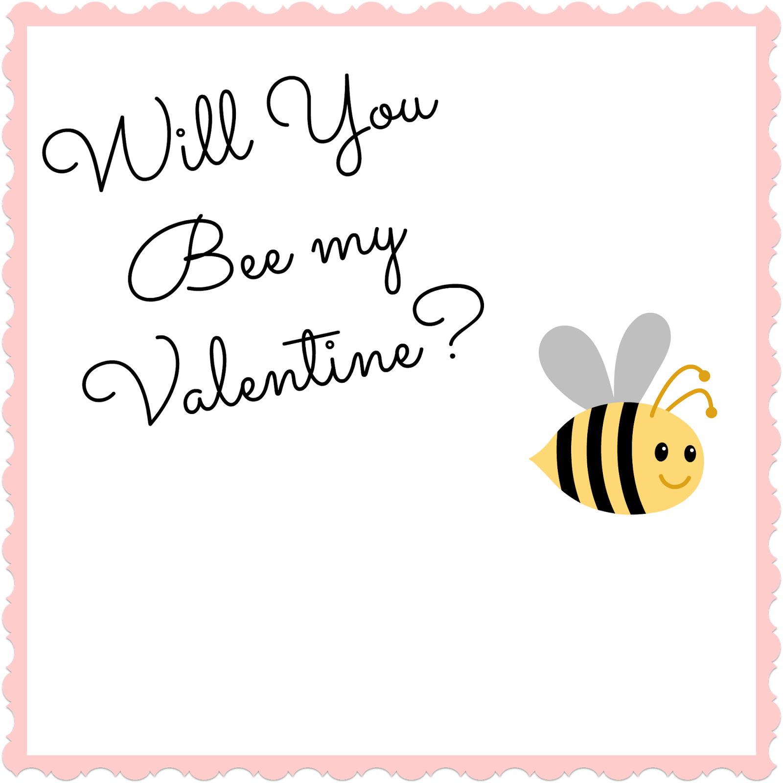 Bee My Valentine Paytington Co – Bee My Valentine Card