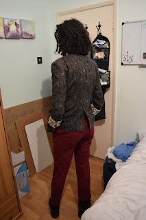 Back Kaisla Blazer Jedediah Trousers#