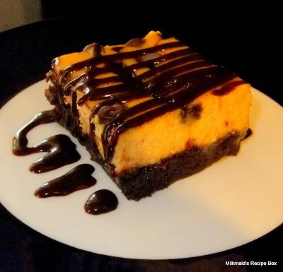Pumpkin Cheesecake Brownies*