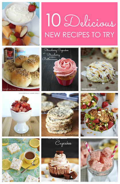 10 Delicious New Recipes to Try at Love Grows Wild www.lovegrowswild.com #recipe #food
