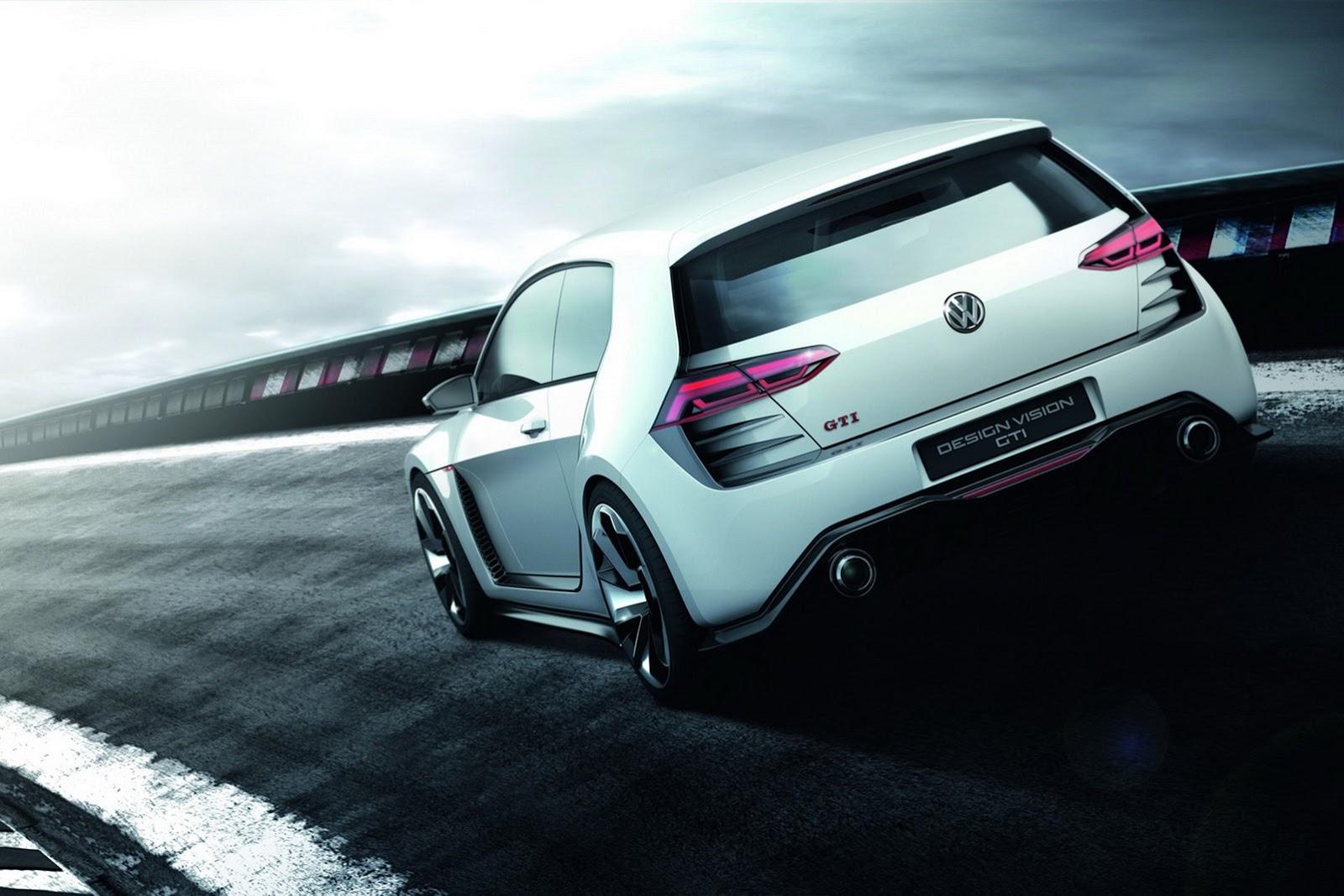 car i Volkswagen Golf Design Vision GTI 2013