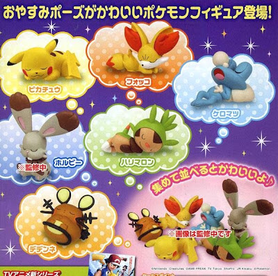 Pokemon Figures Good Night Friends XY TTA