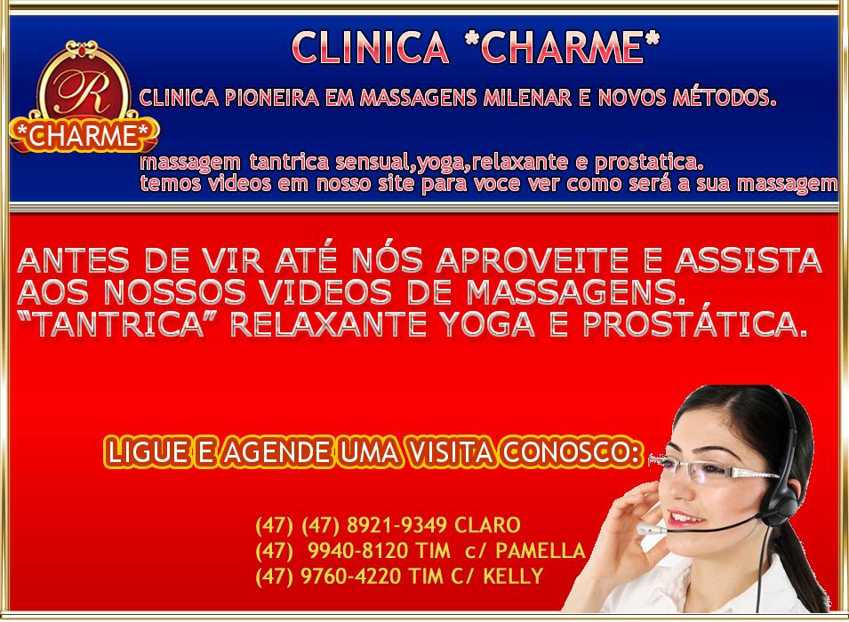 CLINICA DE MASSAGEM JOINVILLE SÓ GAROTAS *VIP*