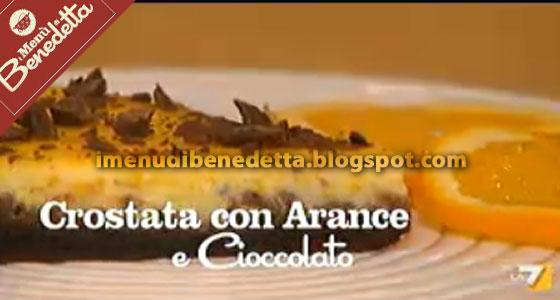 Crostata Cioccolato E Arance La Ricetta Di Benedetta Parodi