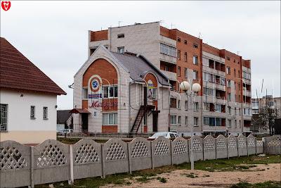 Городская застройка в Смолевичах