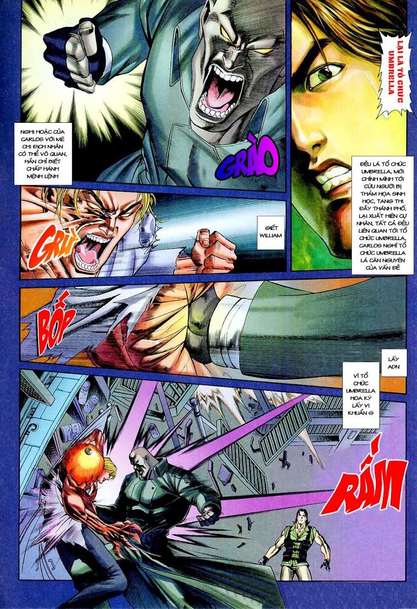 Resident Evil 3 chap 4 - Trang 8