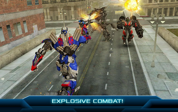 Download TRANSFORMERS: Age of Extinction Android Game APK Free Terbaru 2015