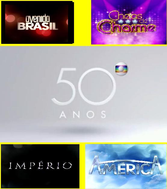 Globo 50 anos de novelas 2005 at hoje - Globos 50 anos ...
