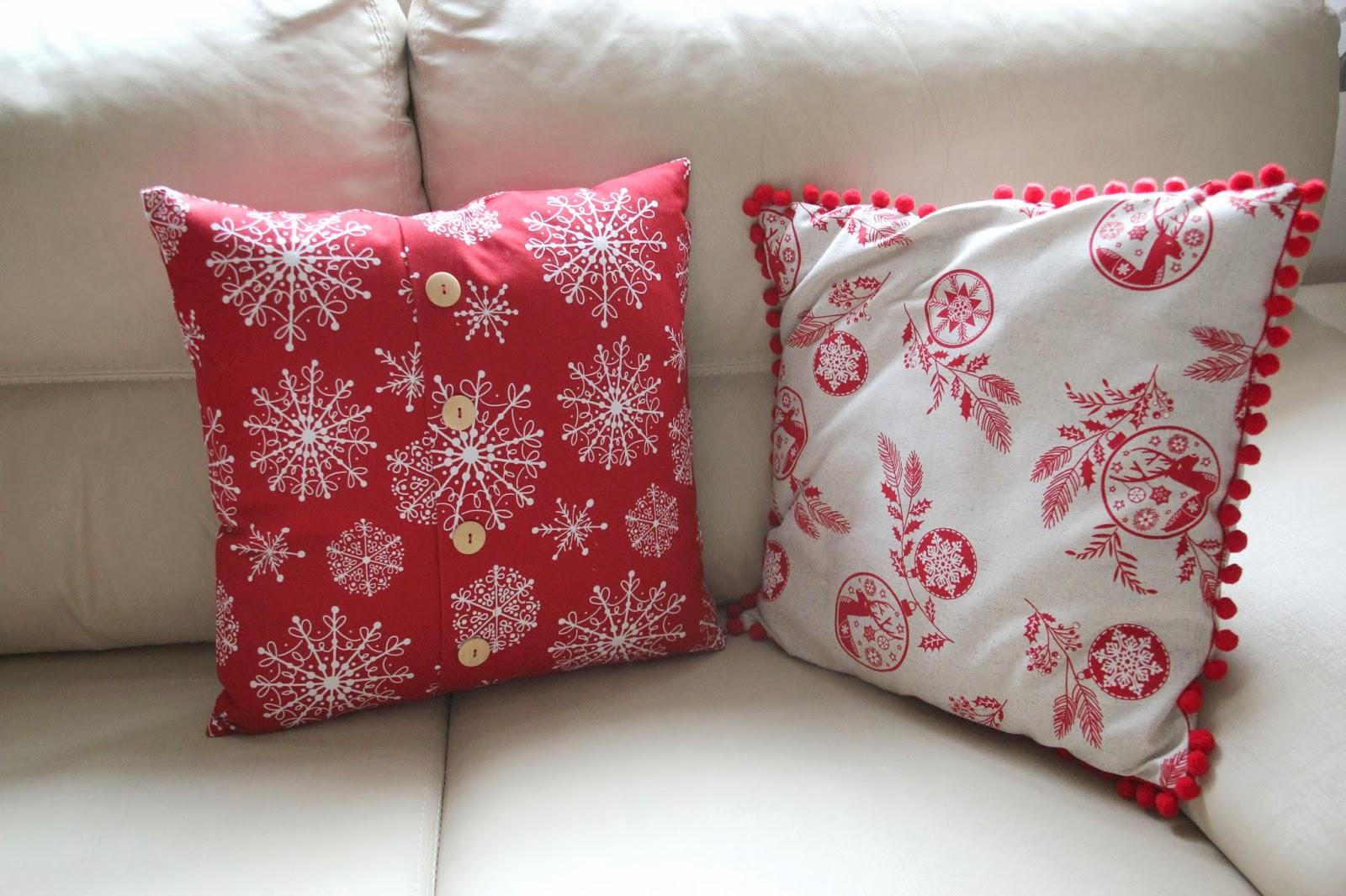 Diy navidad c mo hacer cojines para decorar tu casa en - Decoracion cojines ...