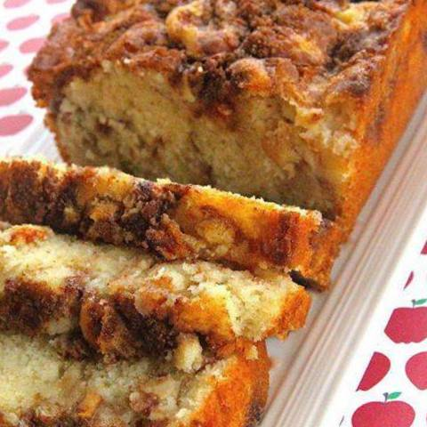Cake Pommes Poudre De Noisettes