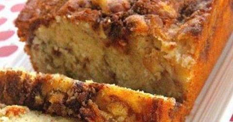 Cake Pommes Poudre De Noix
