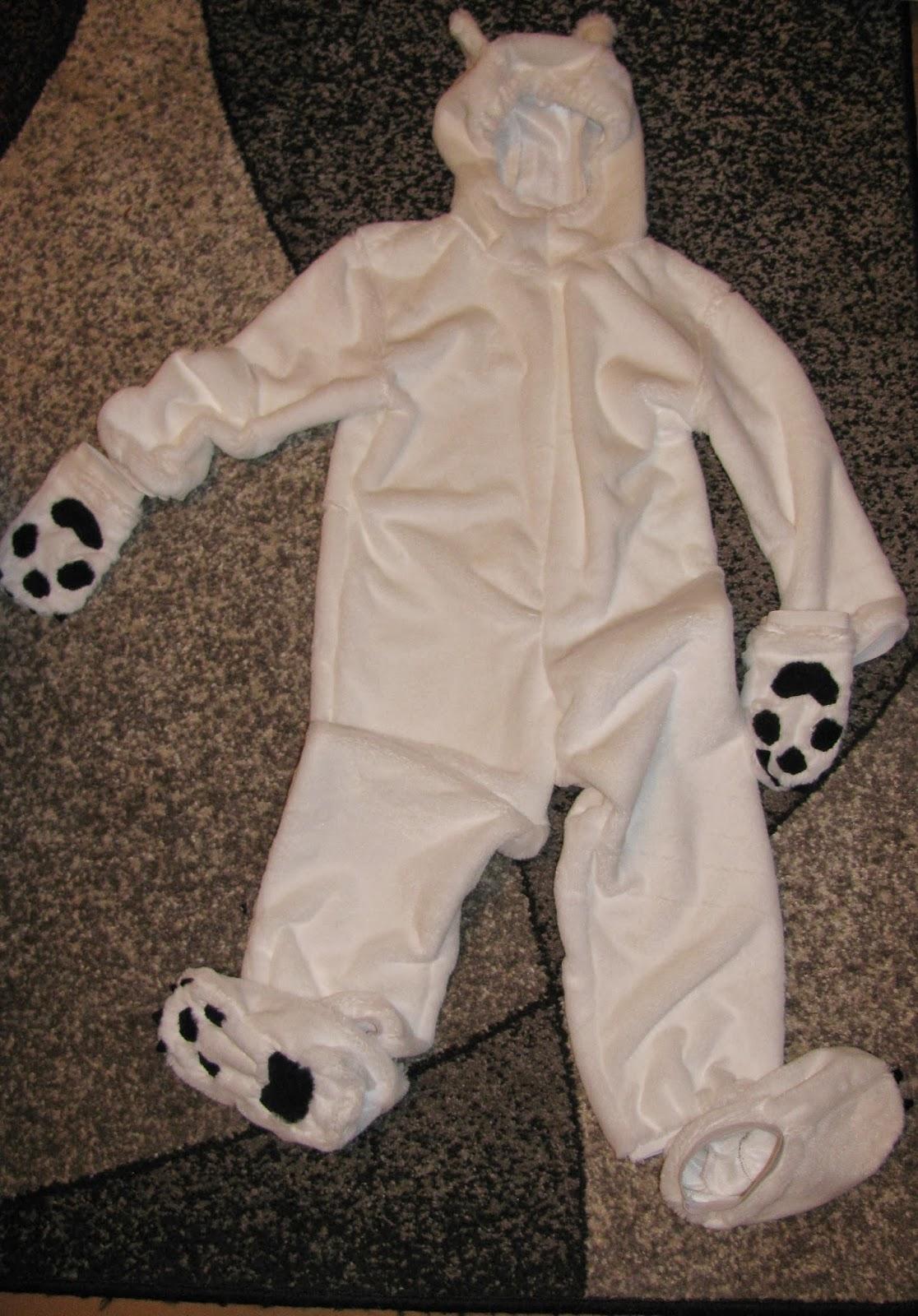Выкройка костюма белого медведя своими руками фото 222