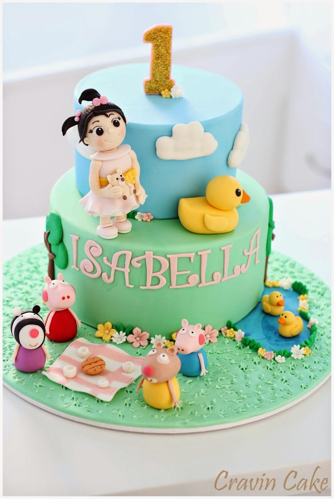 Cravin Cake A Little Girls Peppa Pig Picnic