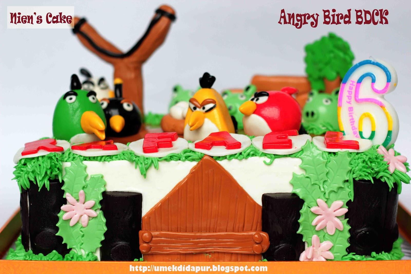 ANGRY BIRD Birthday Cake for RAFAEL