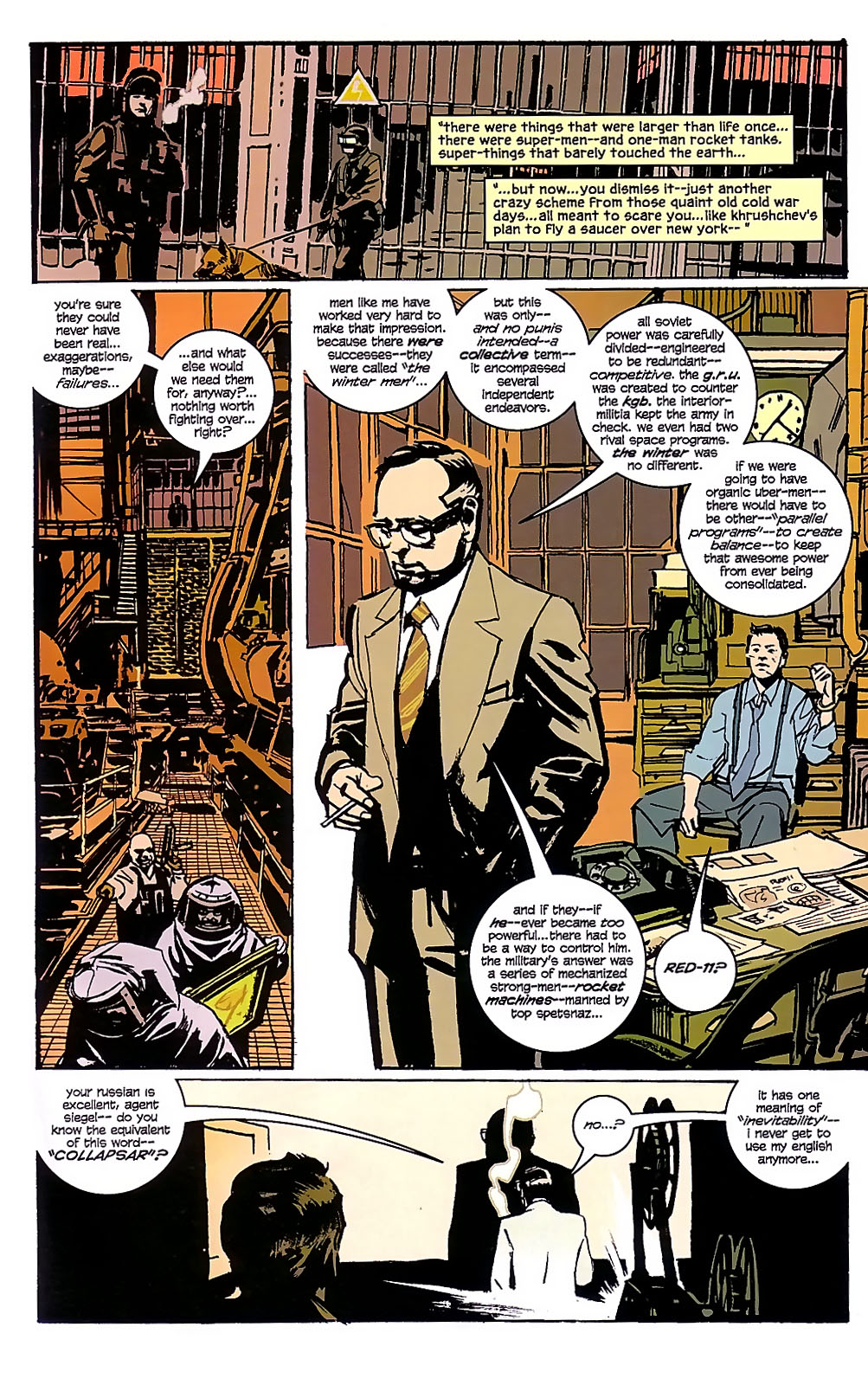 Read online The Winter Men comic -  Issue #3 - 13