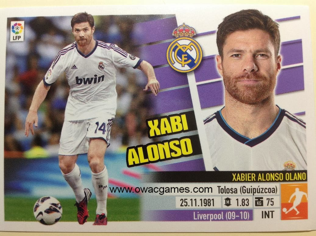 Liga ESTE 2013-14 Real Madid - 9 - Xabi Alonso