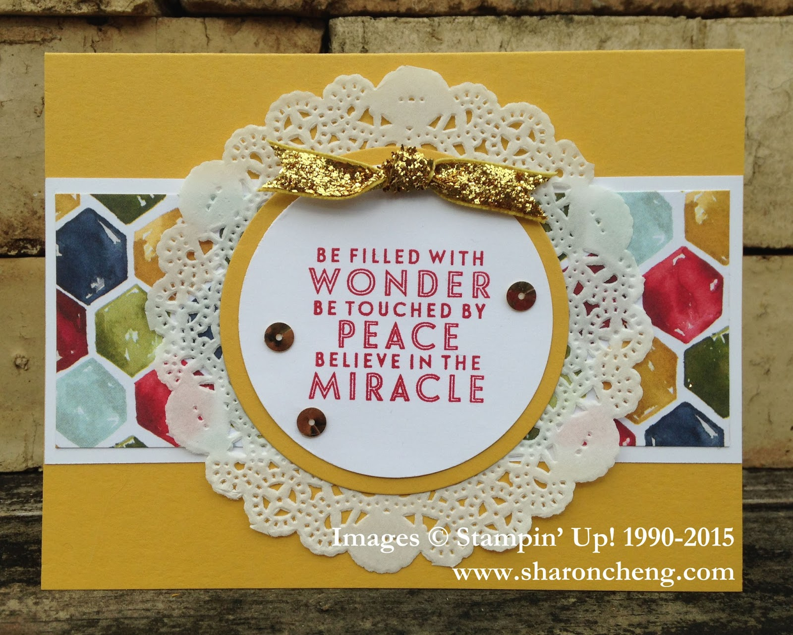 SHARING CREATIVITY and COMPANY: Believe in the Miracle Christmas Card