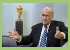 FÚTBOL: Blatter busca una tregua futbolística entre Israel y Palestina