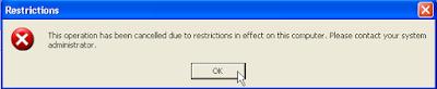 control panel tidak bisa dibuka