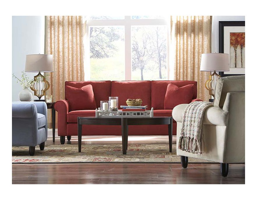 Havertys contemporary living room design ideas 2012 for Contemporary living room furniture ideas