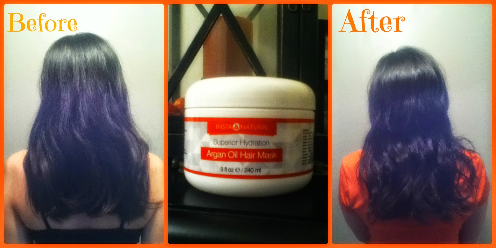 Argan Oil Hair Before And After