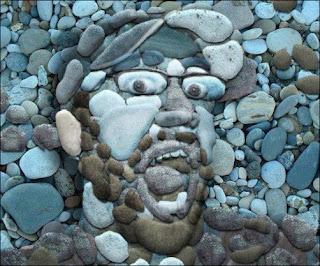 وجه من الحجاره