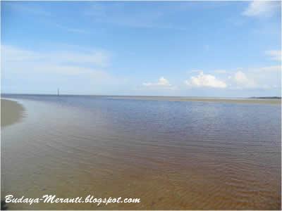 Pantai Beting Beras Kabupaten Kepuluan Meranti