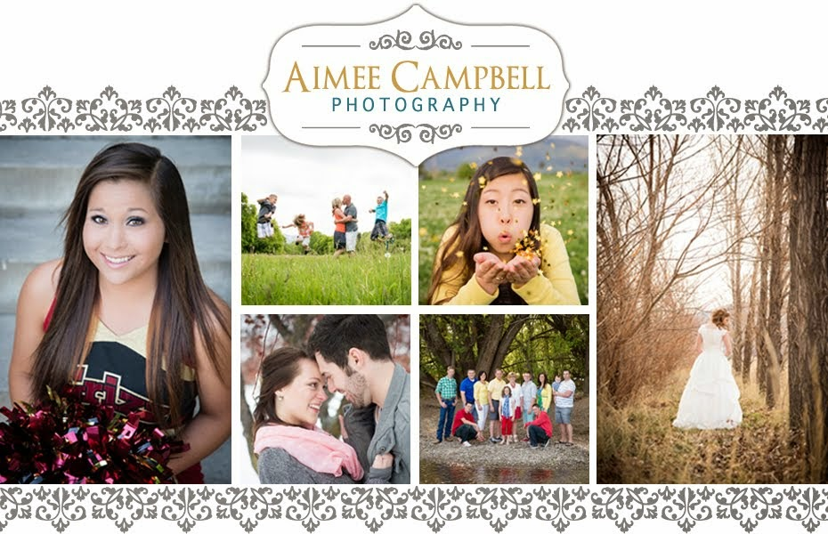 Aimee Campbell Photography | Utah Senior, Wedding, Boudoir Photographer
