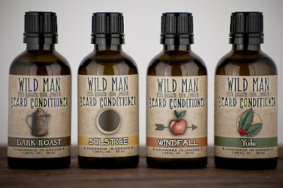 WIld Man Seasonal Beard Conditioners
