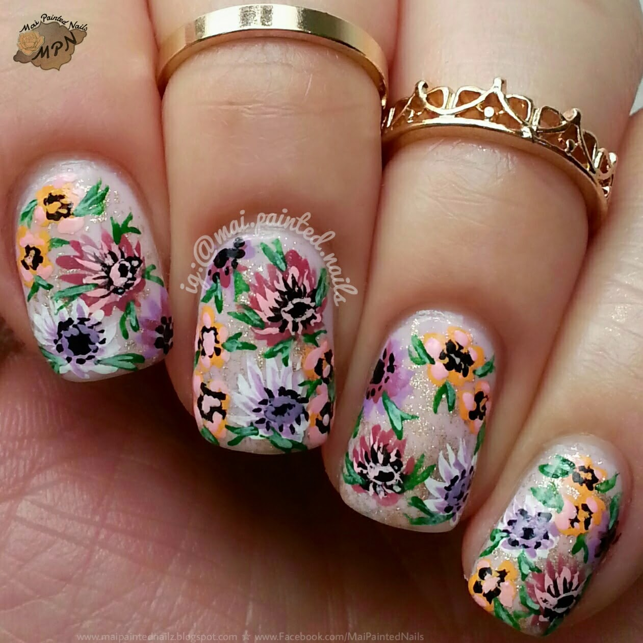 Born Pretty Store Blog: October Eye-catching Nail Designs Show (2)