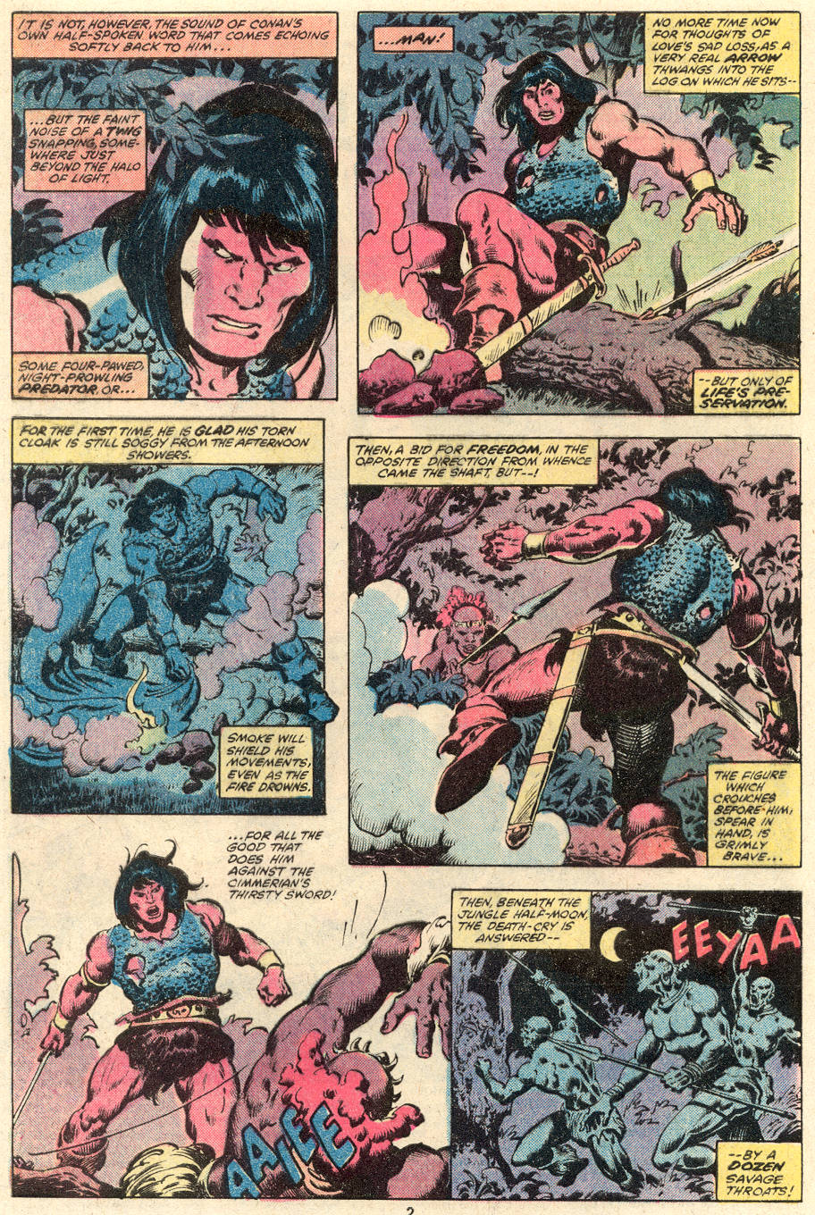Conan the Barbarian (1970) Issue #101 #113 - English 3