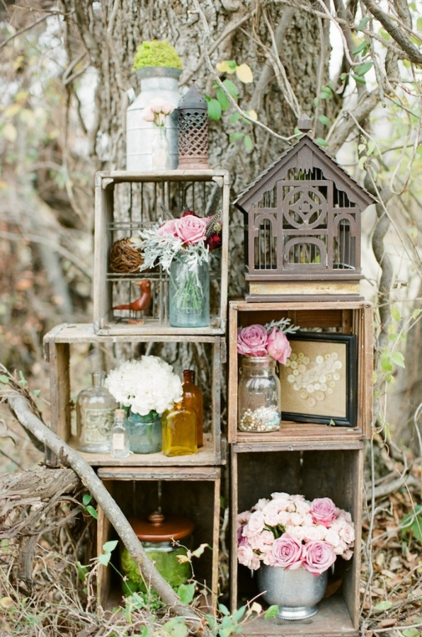 Lilly queen vintage rustic chic fall decor ideas - Pinterest deco vintage ...