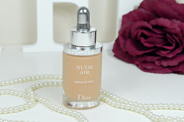Dior - Diorskin - Nude Air - Serum De teint - Foundation - Dewy Foundation - Serum foundation - liquid foundation - sheer coverage - medium coverage - Review - Swatch - Dry skin