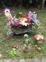 Nosso recanto no mundo e nosso pequeno jardim encantado