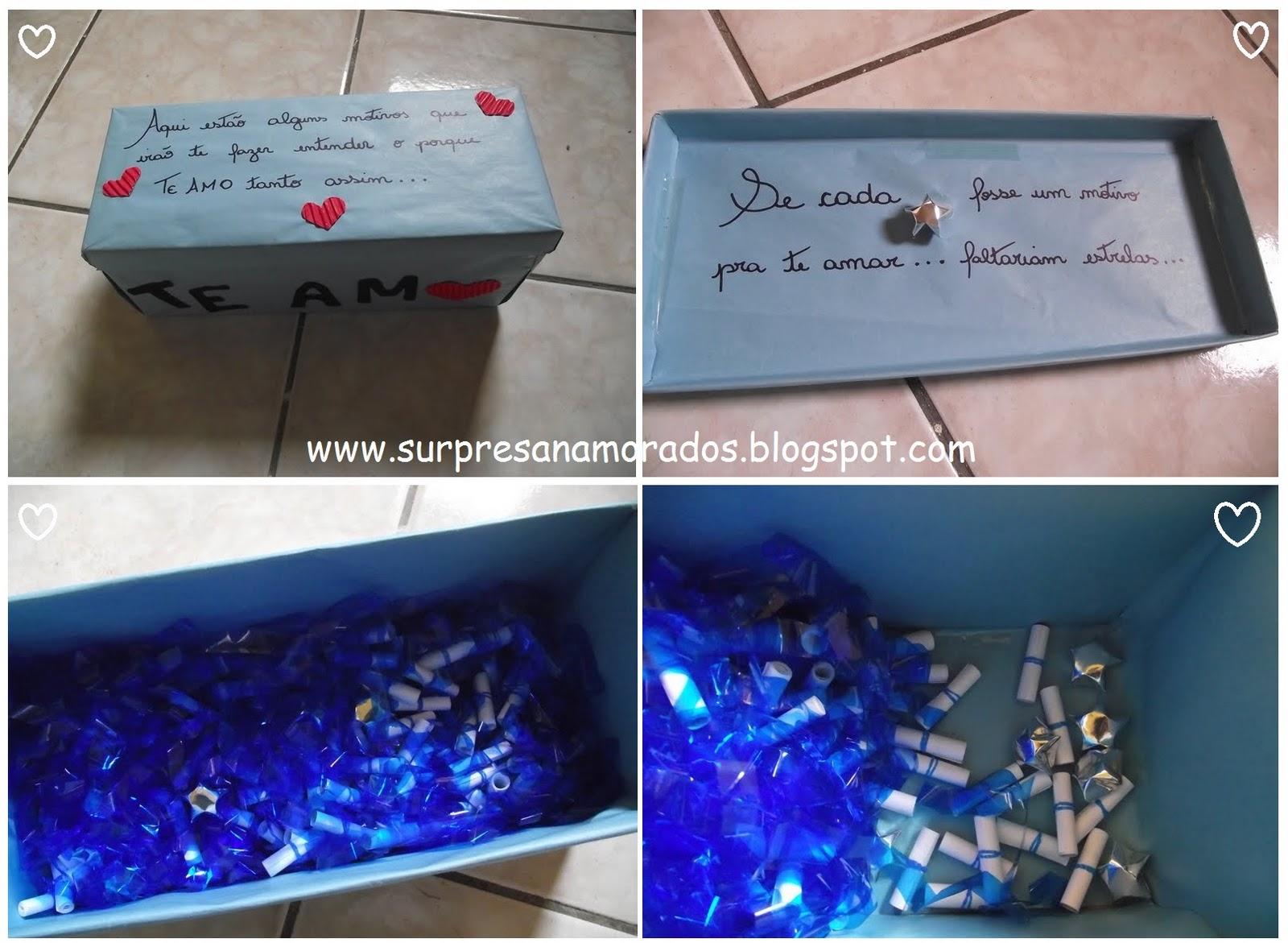 Caixa Motivos Pra Te Amar Surpresas Para Namorados