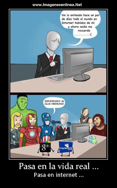 Pasa en la vida real, pasa en internet